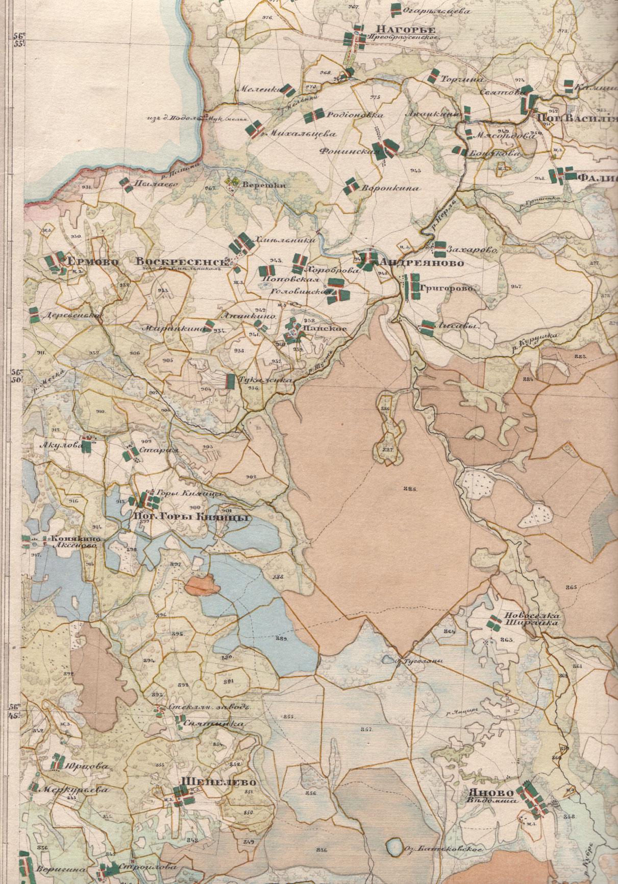 Карты менде белгородской области